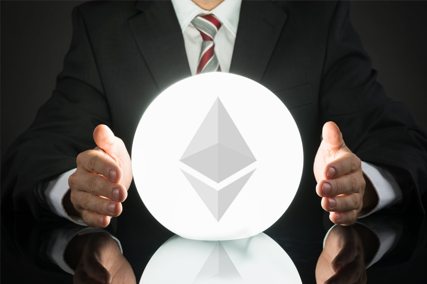 Price correction for Ethereum