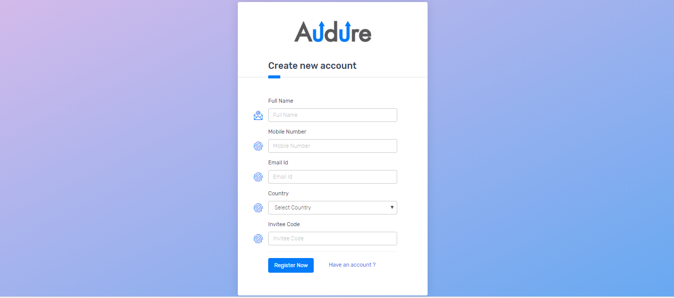 how to start with Audure