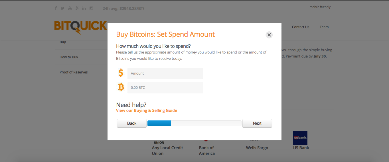 How to buy Bitcoins on BitQuick?