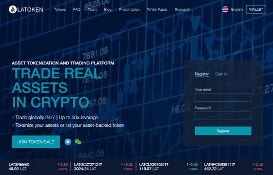 Photo of LAToken : Trade real assets in Cryptocurrencies