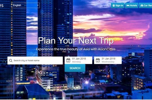 400+ Hotels in AsianCities Accepting Blockchain-based Cryptocurrency MSD