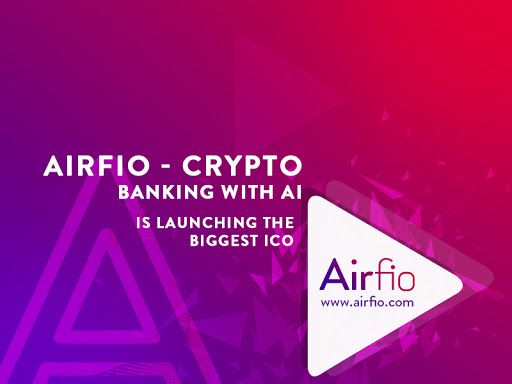 Airfio - Crypto banking with AI is launching the biggest ICO