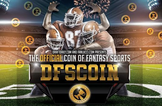 DraftDaily.com presents the official coin of daily fantasy sports DFSCOIN
