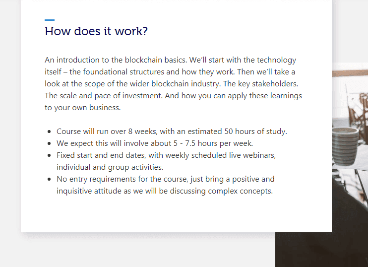 RMIT Blockchain course