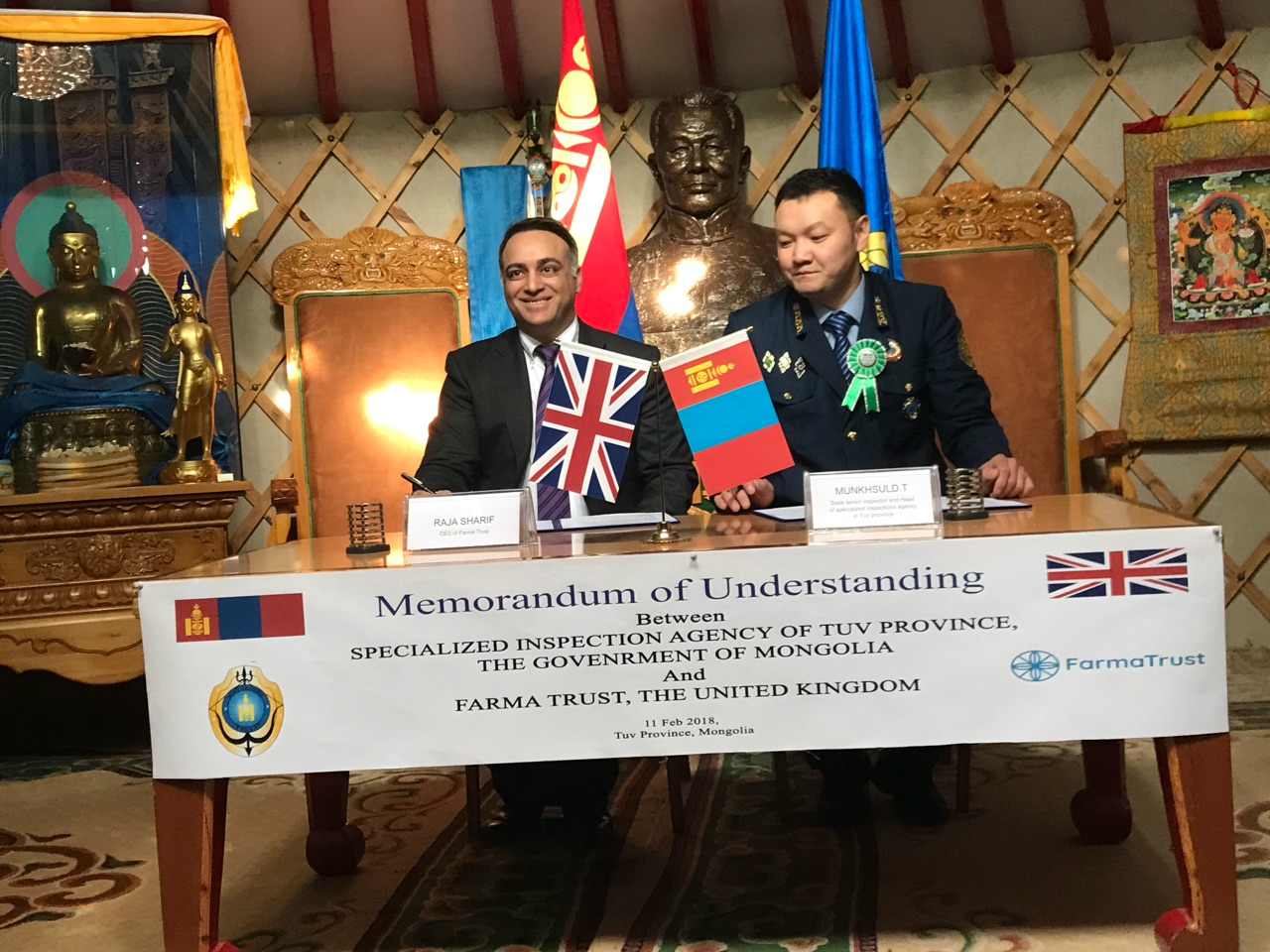 FarmaTrust Partners with Mongolian Government to Stop Fake Medicine
