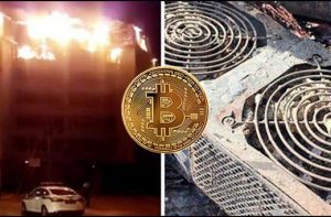 Cryptocurrency Mining Causes a Fire