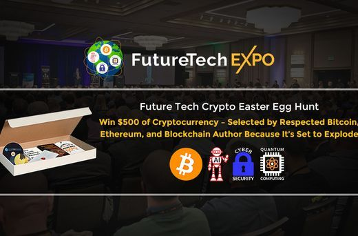 Win $500 of Cryptocurrency Selected by BTC, ETH, Blockchain Author