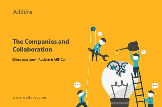 The Companies and Collaboration Effect Overview Audure & ARF Coin-min