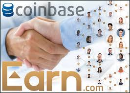 Coinbase buys a Bitcoin startup firm named Earn.com.