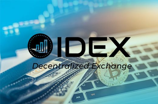 IDEX Decentralized Cryptocurrency Exchange IDEX Exchange
