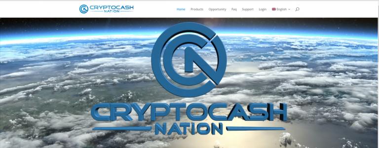 CryptoCash Nation website