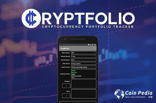 Cryptfolio Portfolio tracking
