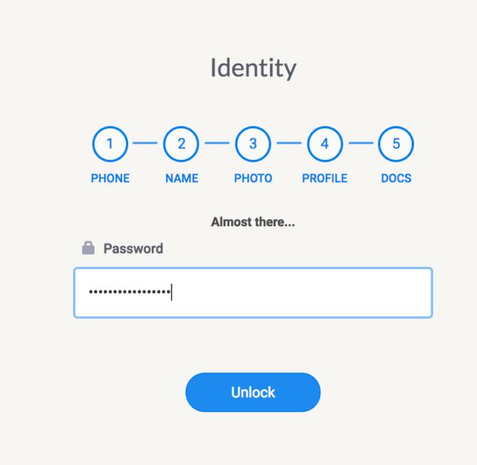 Click Unlock