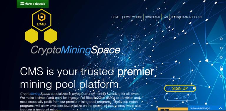 Crypto Mining Space