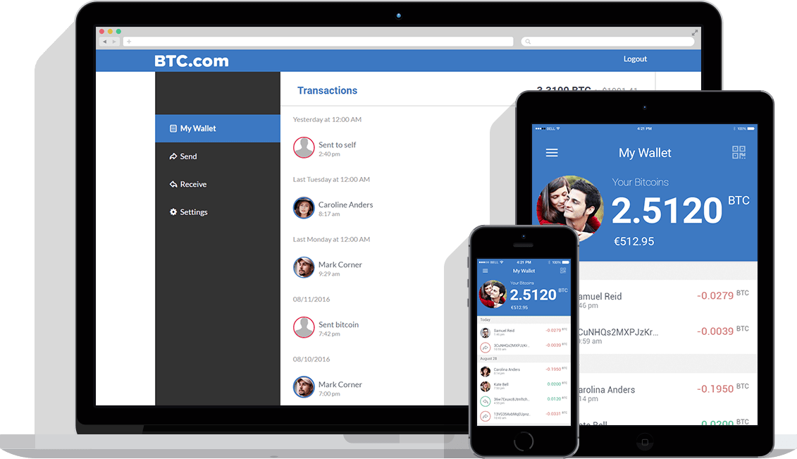 BTC.com mobile wallet compatible