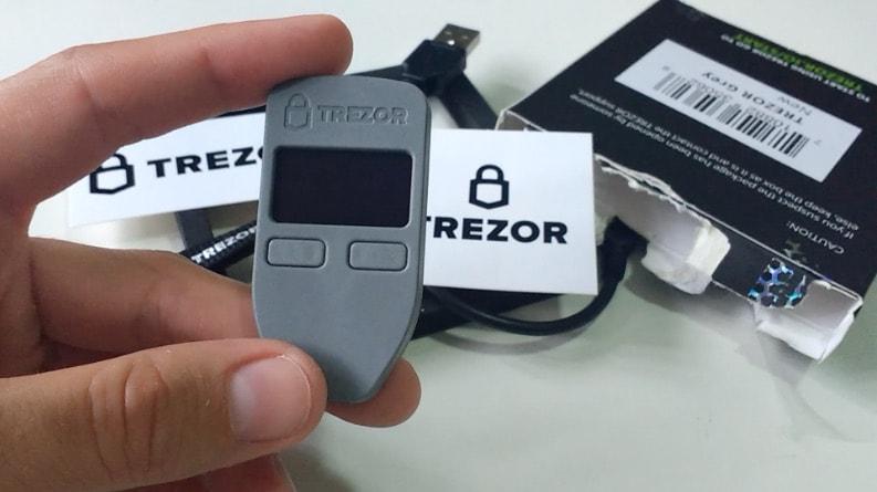 Trezor hardware specification