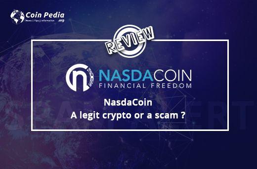 Nasdacoin - an authorized crypto or a swindle?