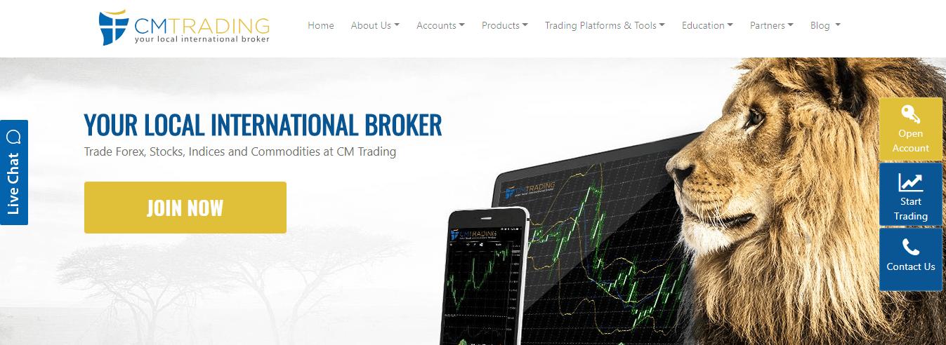 CM Trading - Your Local International Broker