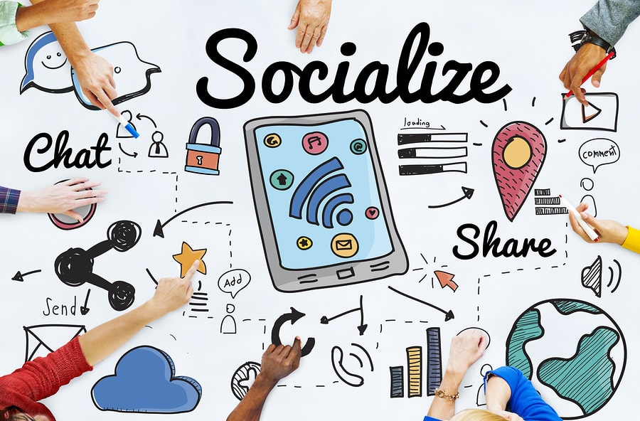Present Trends In The Social Media Space