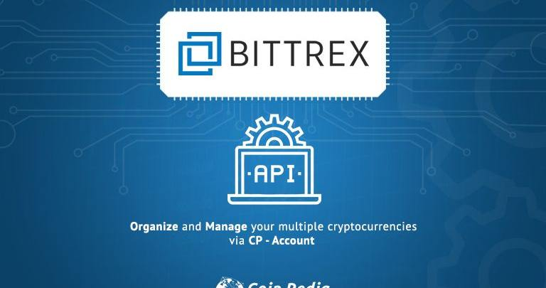 How do I find my API key on Bittrex.com and add on CP account