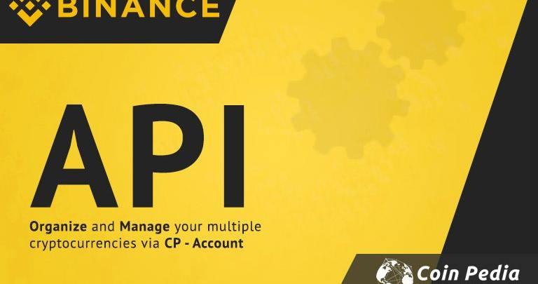 How do I find my API key on Binance.com to track portfolio via CP account