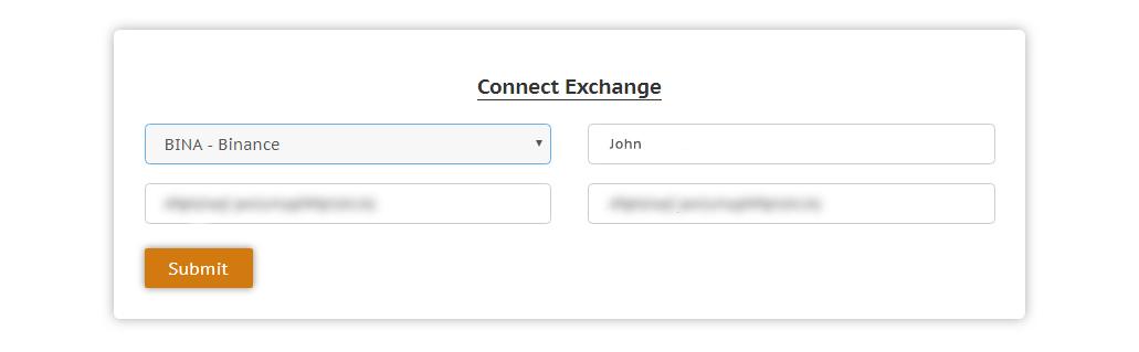 Binance account exchange
