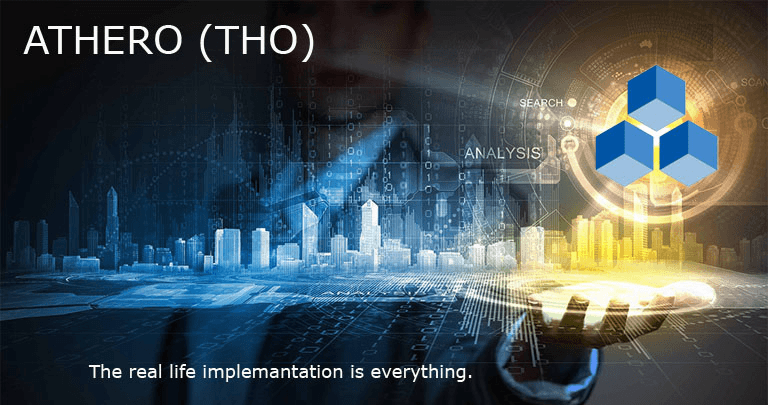 Athero - Combination of IOT and Blockhain in Smart City Concept.