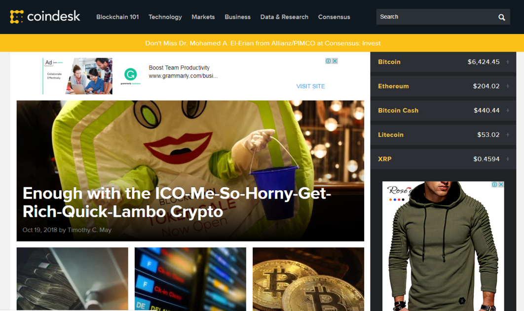Cryptocurrency news rss websites sports betting aus