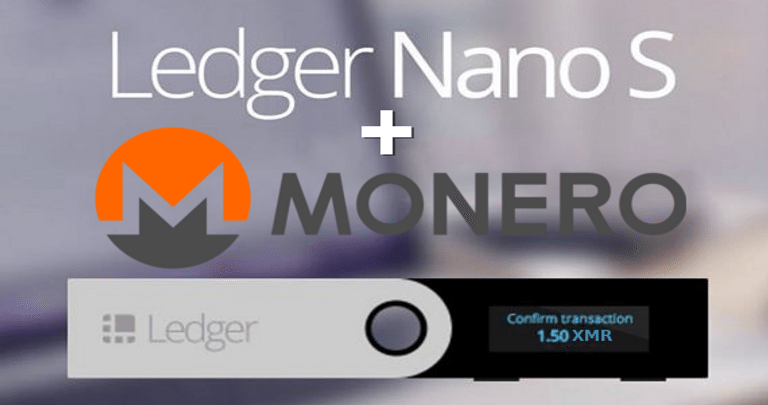 Ledger Nano S Announce Support For Monero (1)