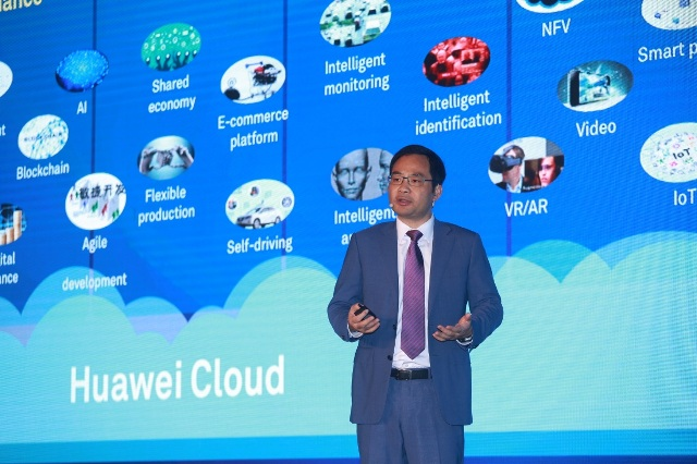 Huawei Cloud Launches Blockchain Service