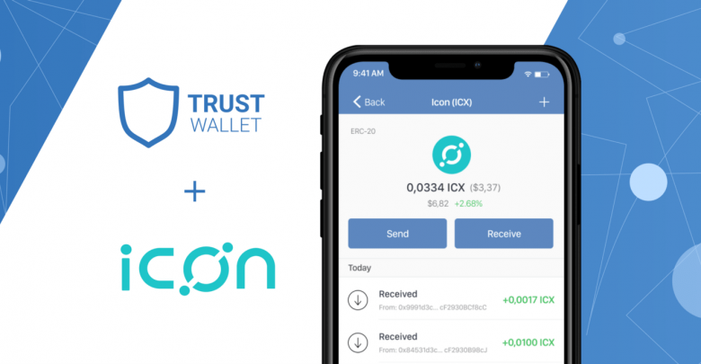 ICON (ICX) Gets Added To The Trust Wallet Platform
