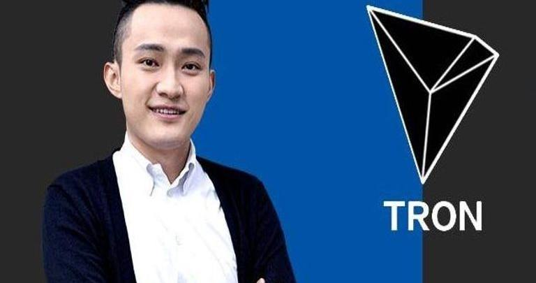Justin Sun Tron Hits New Record In Transaction Volume
