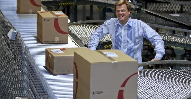 Chief Executive Officer Patrick Byrne