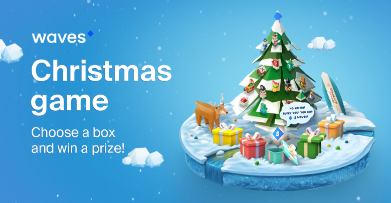 Waves Network Introduces Its Blockchain Christmas Game