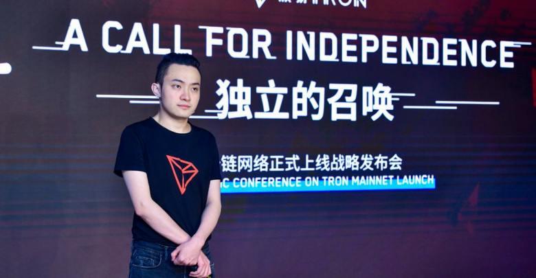 Justin Sun Tron Reaches 1 Million Users