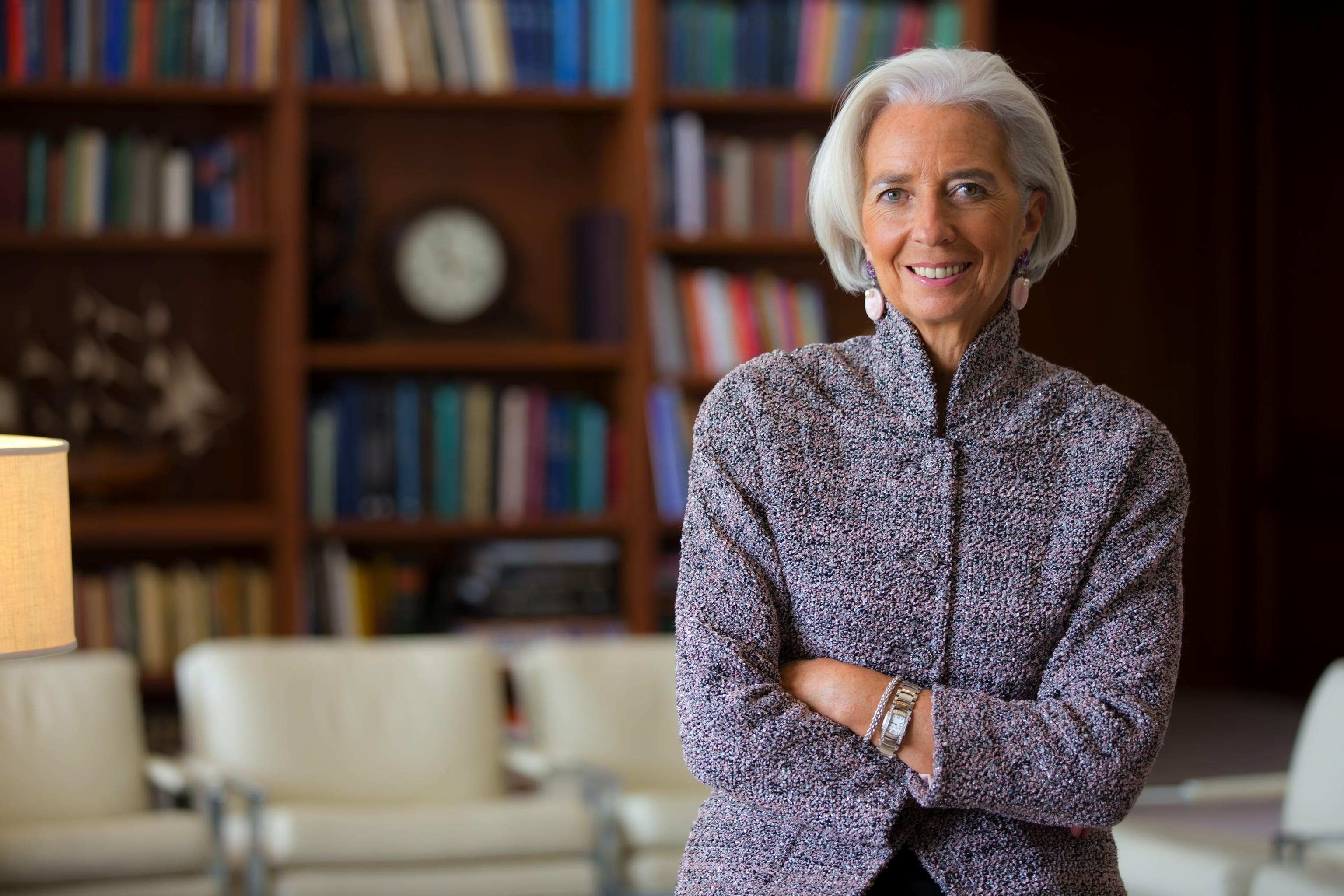 IMF's Christine Lagarde-min