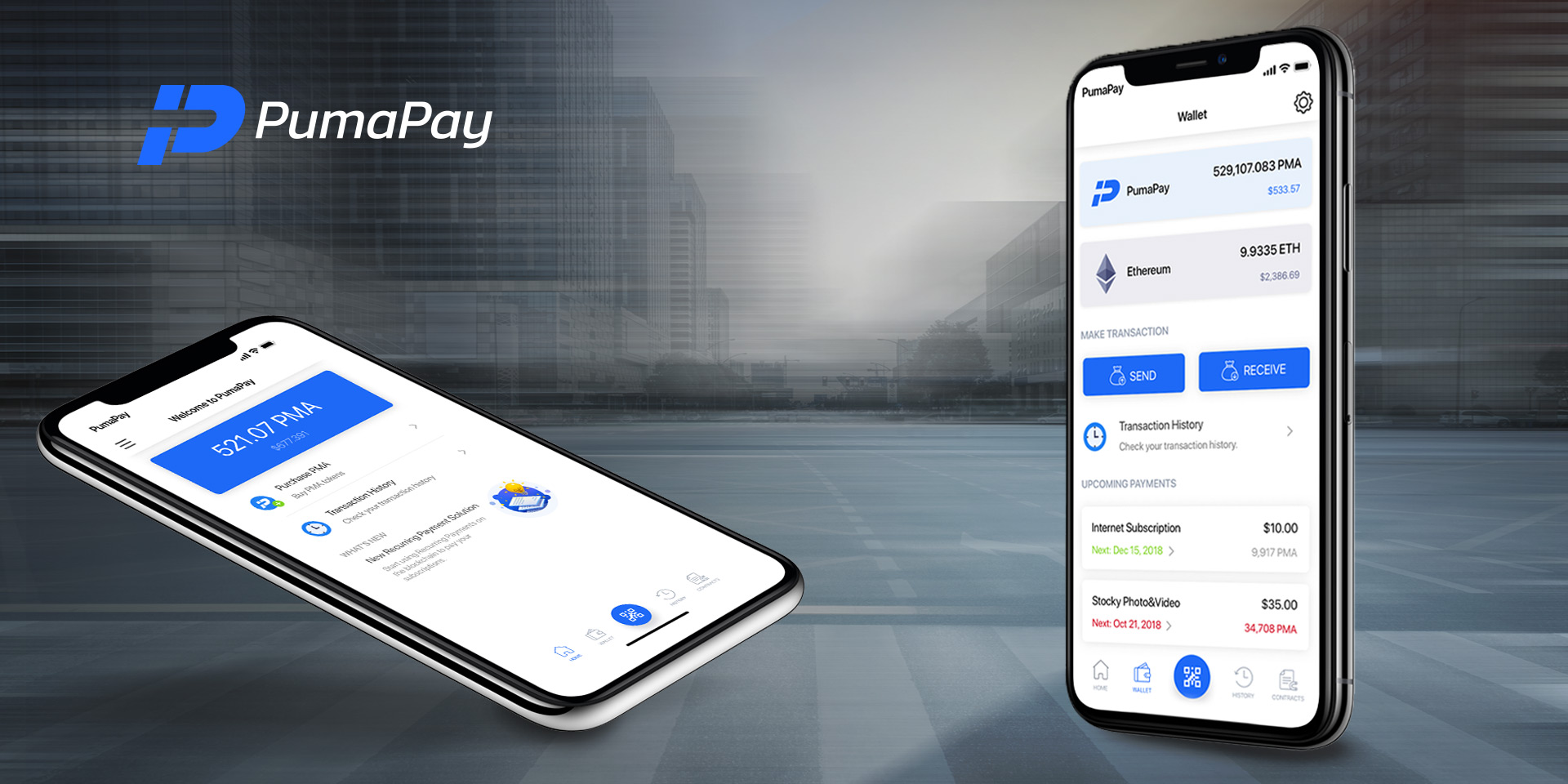 PumaPay Wallet Latest Update: Crypto-to-Crypto Conversion