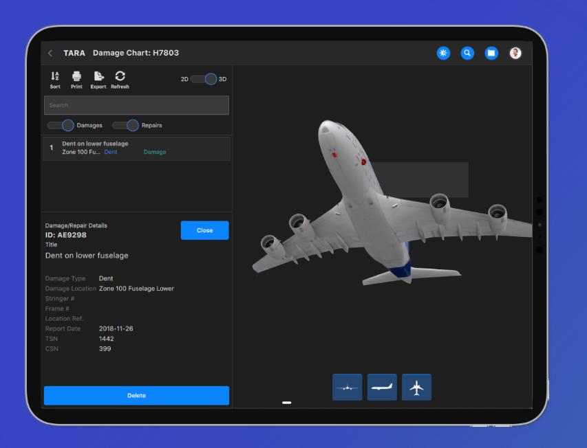 GI Aerospace TARA blockchain project