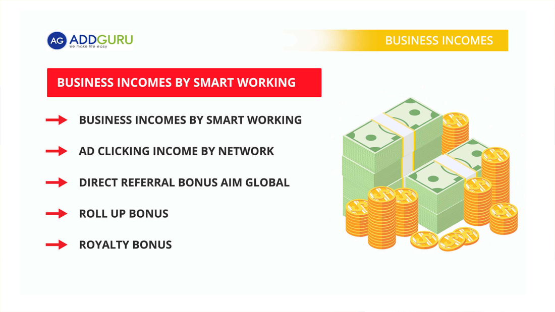 Addguru business income