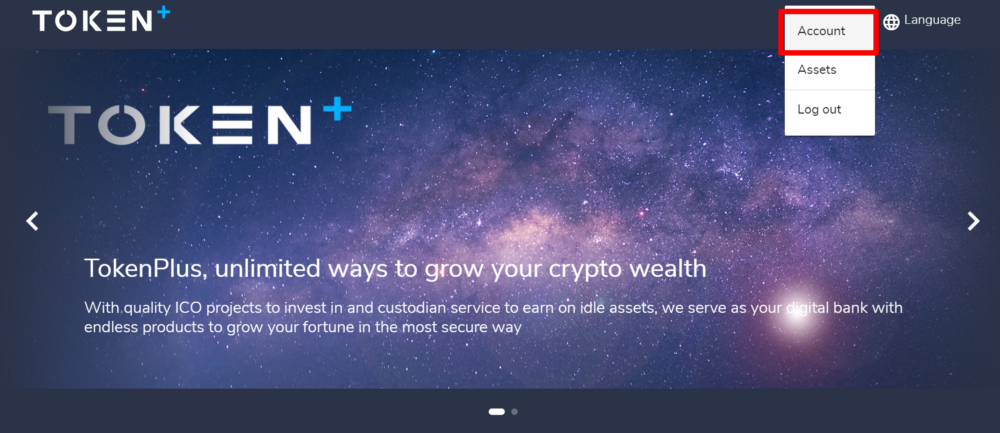 TokenPlus Profile