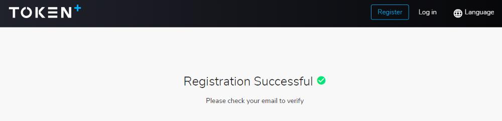 TokenPlus Registration