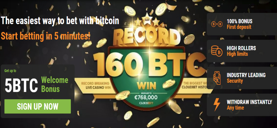 CloudBet offers