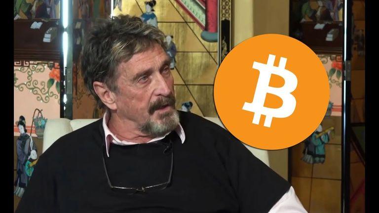 John McAfee Predicts The Hard Date Of Bitcoin Reaching $1,000,000