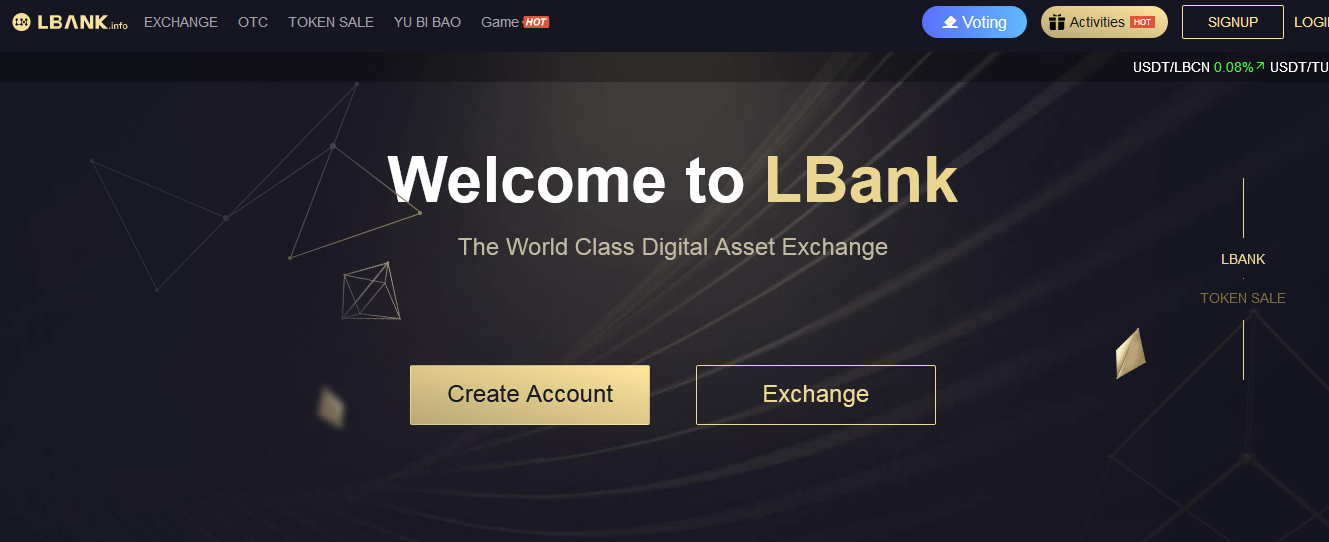 LBank.info Exchange Review 2019