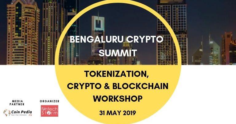 Bengaluru Crypto Summit – Tokenization, Crypto & blockchain