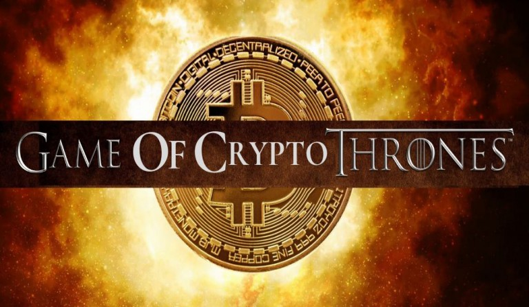 The Game of Throne  v/s Game of Crypto Coins