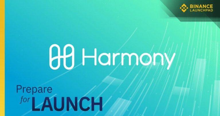 Binance Launchpad announce exclusive token launch - Harmony Token
