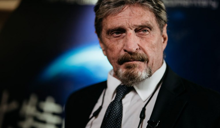 John McAfee's New Privacy Coin Developed by his Team: GHOST
