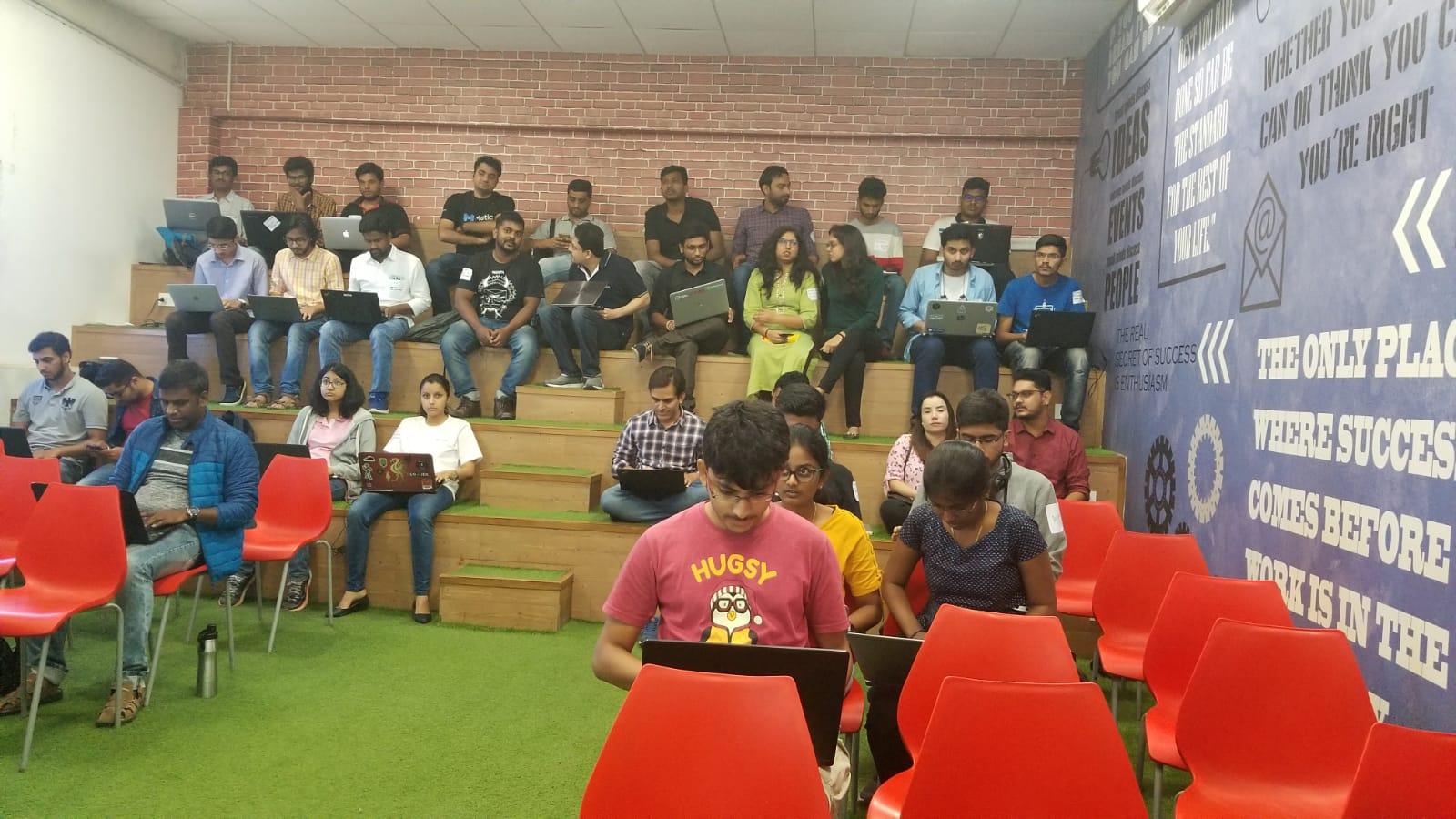 1st-day-Hackathon-Participants