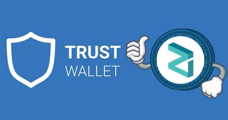 TRUST WALLET and zilliqa platform